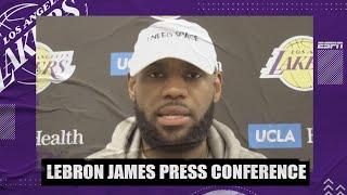 LeBron James on how the Lakers are preparing for the season opener vs. the Clippers | NBA on ESPN
