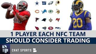 NFL Trade Rumors: 1 Player Each NFC Team Should Consider Trading Before The 2020 Season