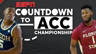 Can Georgia Tech upset Florida State to take ACC Title? | Countdown to ACC Championship