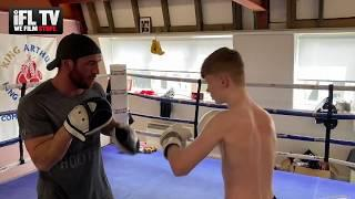 WOW! FUTURE WORLD CHAMPION IN THE MAKING - MACHLAN ARTHUR SHOWS SLICK PAD WORK WITH DAD ALEX ARTHUR