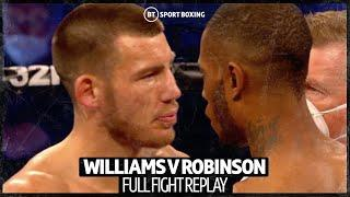 Full fight: Liam Williams v Andrew Robinson