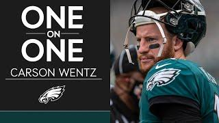 Carson Wentz Talks the Eagles' Up-Tempo Offense & More | Eagles One-On-One