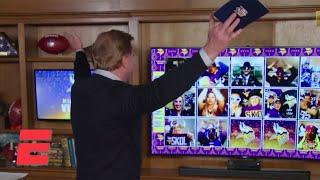 Roger Goodell does the Vikings clap before announcing Minnesota's No. 22 pick | 2020 NFL Draft