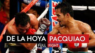 The fight that made Manny Pacquiao a superstar!  | De La Hoya vs Pacquiao | FIGHT REWIND