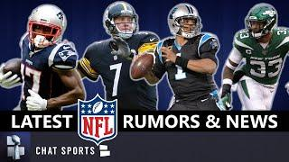 NFL Rumors: Antonio Brown Return? Latest News On Jamal Adams, Cam Newton, Adam Gase, Kaepernick