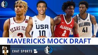 Dallas Mavs Mock Draft Roundup: 5 Players The Mavs Should Consider With Their 1st Round Draft Pick