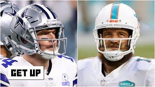 Should the Cowboys call the Dolphins about a Ryan Fitzpatrick trade? | Get Up