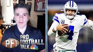 Patrick Mahomes' extension means nothing for Dak Prescott | Pro Football Talk | NBC Sports