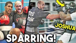 *LEAKED* AJ JOSHUA vs TYSON FURY SPARRING SESSIONS ~KNОCКOUT in TRAINING CAMP 2021 ~