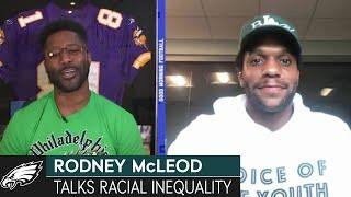 """Rodney McLeod: It's """"important"""" to Discuss Social Justice, Racial Inequality 