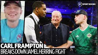Carl Frampton reveals weaknesses in Jamel Herring's game, suggests New York could be the venue