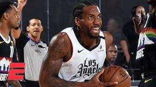 JWill reacts to Clippers vs. Nuggets Game 4: Kawhi is making the case for 'Bubble MVP' | KJZ