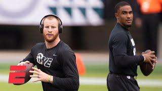 Discussing Carson Wentz, Jalen Hurts and the future of the Eagles | Keyshawn, JWill & Zubin