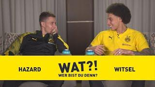 Who am I?   BVB-Challenge with Axel Witsel & Thorgan Hazard