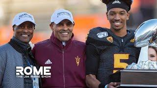 Herm Edwards on how he gets his players to commit to his program | The Jim Rome Show