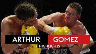 One of the GREATEST fights on British soil!    Alex Arthur vs Michael Gomez   Highlights