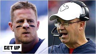 Reacting to J.J. Watt and Bill O'Brien's heated exchange during a recent practice | Get Up