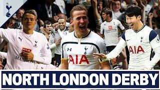 The BEST north London derby moments! Ft. Son, Kane, Bale, Keane, Lennon, Jenas & Bentley!