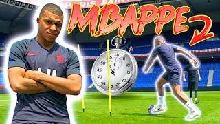 HOW FAST IS MBAPPE?!  PSG SPEED TEST! MBAPPE VS CAVANI VS DI MARIA & more! FIFA20 RATINGS ️