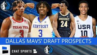 2020 NBA Draft: 5 Draft Prospects The Dallas Mavs Should Consider With Their 1st Round Draft Pick