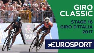 Finish Nibali in stage 16 of Giro 2017 | Giro Classic | Cycling