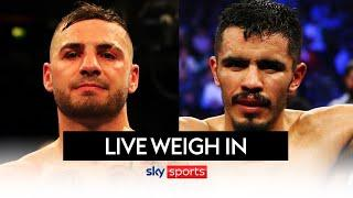 LEWIS RITSON VS MIGUEL VAZQUEZ | LIVE WEIGH-IN