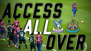 INCREDIBLE VAN AANHOLT FREE-KICK | Access All Over Newcastle United