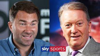 Eddie Hearn responds to Frank Warren's call for Matchroom vs Queensbury crossover fights