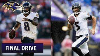 The All-Time Team Debate Between Lamar Jackson and Joe Flacco | Ravens Final Drive