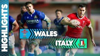 Wales v Italy | Ending 2020 As They Started Wales Take Victory | Autumn Nations Cup Highlights