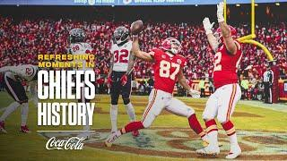 Chiefs Complete Epic 24 Point Second Quarter Comeback | Refreshing Moments in Chiefs History