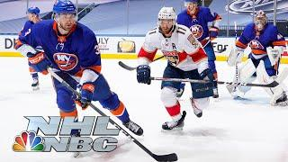NHL Stanley Cup Qualifying Round: Panthers vs. Islanders | Game 2 EXTENDED HIGHLIGHTS | NBC Sports