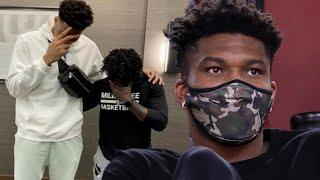 Giannis Antetokounmpo's Barber Leaks That He's Leaving The Bucks By Wishing Him Farewell On IG