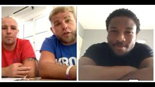 'LEARN FROM MY MISTAKES' - BILLY JOE SAUNDERS ADVISES HIS FIGHTER  DONTE DIXON (WITH ADAM ETCHES)