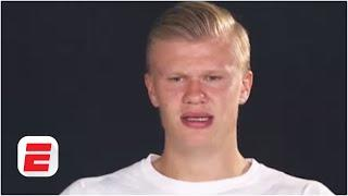 Erling Haaland 'not happy' with 8th in ESPN's U21 list. Should Vinicius Jr. be above him? | ESPN FC