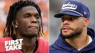 What does drafting CeeDee Lamb mean for Dak Prescott and the Cowboys? | First Take