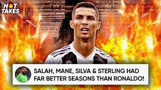 Cristiano Ronaldo Is Not In The World's Top 3 Players Because... |#HotTakes