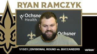 Ryan Ramczyk on Buccaneers Defensive Line, Divisional Prep | Saints-Buccaneers NFC Divisional Round