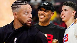"""LaVar Ball Says LaMelo Could Easily Beat """"Little"""" Steph Curry One On One"""