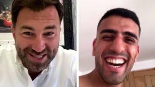 'WHEN IT COMES TO HAVING A TEAR-UP - I WON'T SHY AWAY' - NAV MANSOURI TO EDDIE HEARN ON CONWAY CLASH