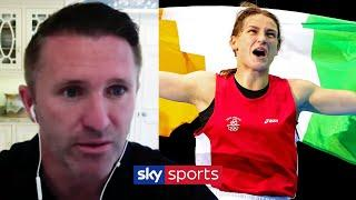 Where does Katie Taylor rank amongst Ireland's greatest sportstars? | Robbie Keane on Taylor/Persoon