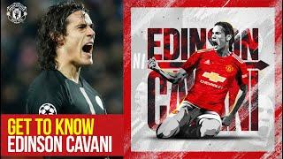 Get to Know Edinson Cavani | His Career So Far in Numbers | Manchester United | Stats