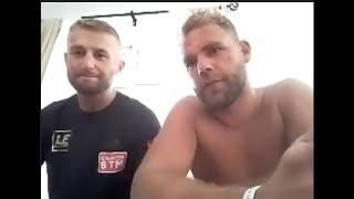 'I WASTED MY TIME' - BILLY JOE SAUNDERS REACTS TO CANELO LAWSUIT, SMITH DOUBT, NEW SIGNING EDMONDSON