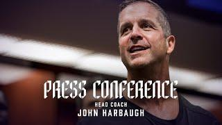 John Harbaugh Talks Prepping For Season  | Baltimore Ravens