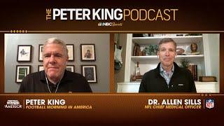 Sills lays out how NFL has handled Tennessee Titans outbreak   Peter King Podcast   NBC Sports