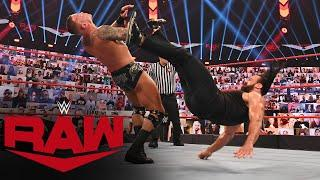Drew McIntyre returns to hit Randy Orton with another Claymore: Raw, September 7, 2020