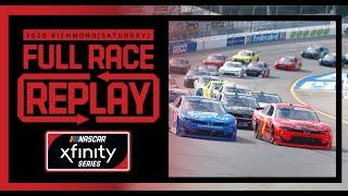 Virginia is for Racing Lovers 250 from Richmond | NASCAR Xfinity Series Full Race Replay (Saturday)