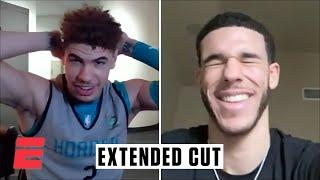 A conversation with LaMelo and Lonzo Ball (Extended cut)   NBA on ESPN