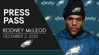 """Rodney McLeod: Eagles """"Embrace the Challenge"""" of Facing Packers Offense 