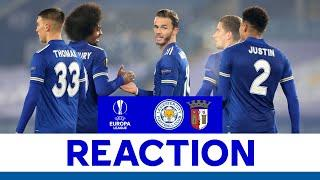 'Three Out Of Three Is A Great Start' - James Maddison   Leicester City 4 SC Braga 0   2020/21